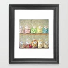 Bonbon Framed Art Print
