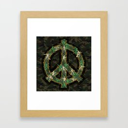 Peace Keepers Framed Art Print