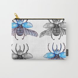 Rhino beetle Carry-All Pouch