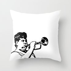 Donkey Lips  |  Salute Your Shorts! Throw Pillow