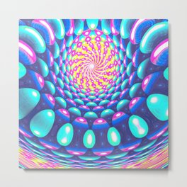 Spherical Enlightenment Metal Print