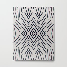 Geometric whatever Metal Print
