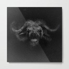 Sacred Bufalo Bull Metal Print