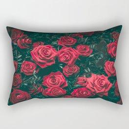 When Love Blooms Rectangular Pillow