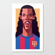 R10   Blaugrana Canvas Print