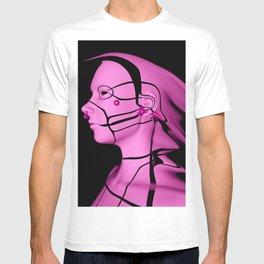 Pink Cyborg T-shirt
