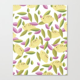Vintage Lemons Canvas Print