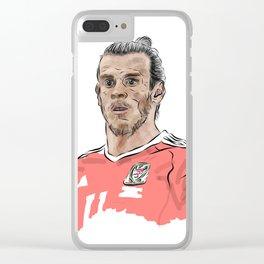 Gareth Bale Clear iPhone Case