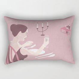 Always with you Rectangular Pillow