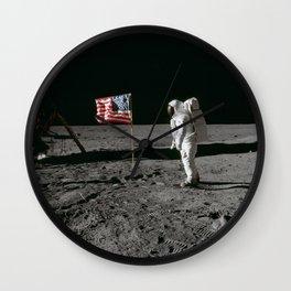 Man on the Moon Apollo 11 Wall Clock