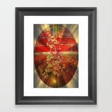 Brick Egg. Framed Art Print