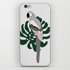 Tropical Parrot iPhone & iPod Skin