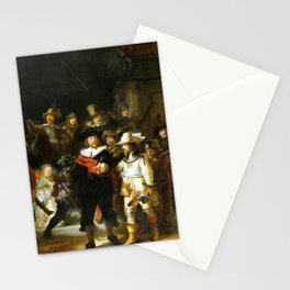 Rembrandt The Nigh Watch Stationery Cards