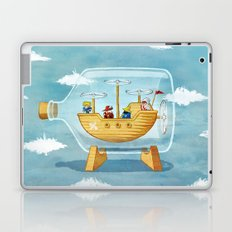 AIRSHIP IN A BOTTLE Laptop & iPad Skin