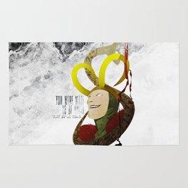 Made to be Ruled : Loki Rug