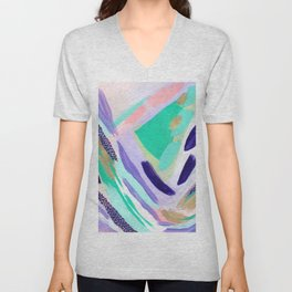 All the Pieces Unisex V-Neck