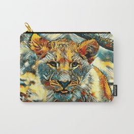 AnimalArt_Lion_20171204_by_JAMColorsSpecial Carry-All Pouch
