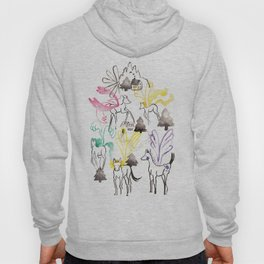 Pegasus in the forest Hoody