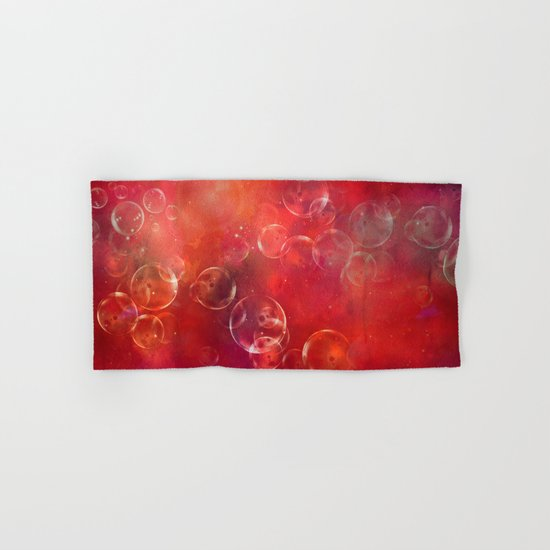 Into the red space Hand & Bath Towel