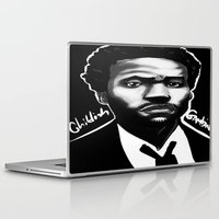 childish gambino Laptop & iPad Skins featuring Gambino Variant by Joshua Beckett