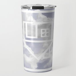 Clouds Flipped Travel Mug