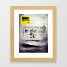 UrbanStyleMag issue #27 cover Framed Art Print