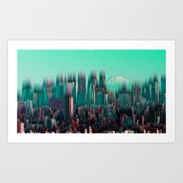 56. Revolving Sky Art Print
