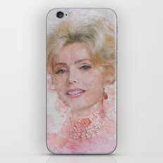 Zsa Zsa Gabor iPhone & iPod Skin