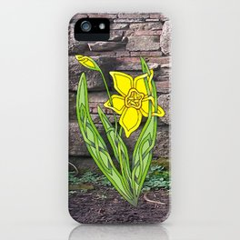 Jonquil Knot iPhone Case