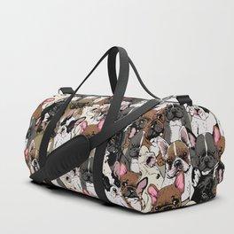 Social Frenchies Duffle Bag