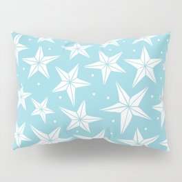 Snow Flakes Pillow Sham