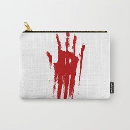 Bloody Hand Carry-All Pouch