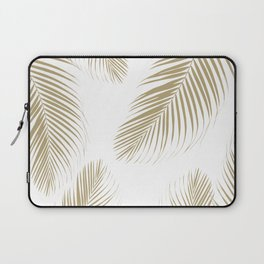 Palm Leaves - Gold Cali Vibes #3 #tropical #decor #art #society6 Laptop Sleeve