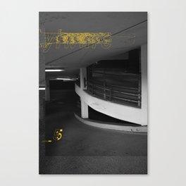 Yellow City 05 Canvas Print