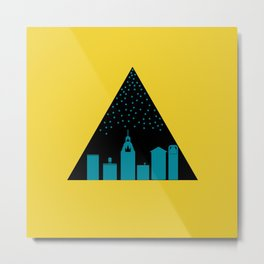 The Goodnight City Metal Print