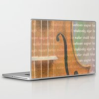 violin Laptop & iPad Skins featuring Violin by Imagology