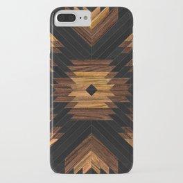 Urban Tribal Pattern 7 - Aztec - Wood iPhone Case