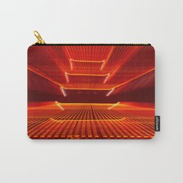 Abstract Reading Pagoda Night Photo Carry-All Pouch