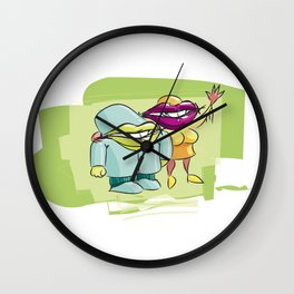 Creatures Wall Clock