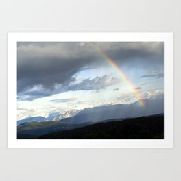 Rainbow N° 01 Art Print