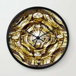 In Hadron Collider. Wall Clock