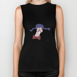 Spunky Turkey Purple Hair Biker Tank