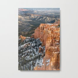 Rainbow Point Overlook, Bryce Canyon National Park Metal Print