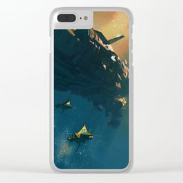 LEVIATHAN Clear iPhone Case