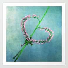 be my valentin Art Print