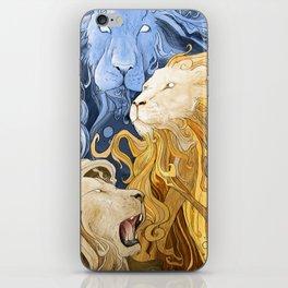 Spiritus (Lions) iPhone Skin