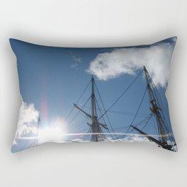 Salem Wooden ship Rectangular Pillow