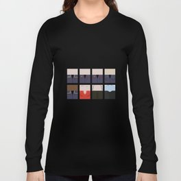 Enterprise NX-01 Crew minimalist - Star Trek Enterprise ENT- Trektangle startrek - Trektangles  Long Sleeve T-shirt