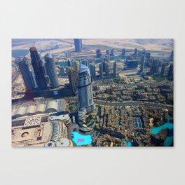 View from the Burj Khalifa Canvas Print
