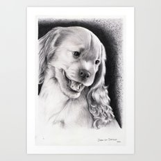 PUPPY - CACHORRO Art Print